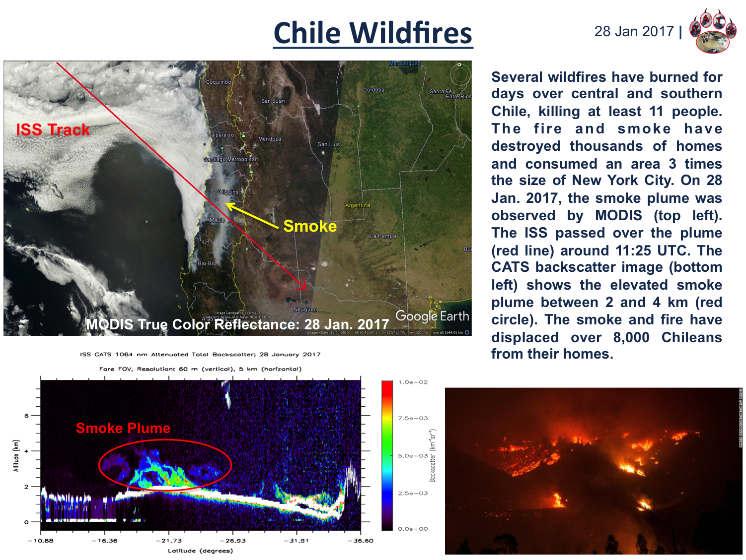 Chile Fires